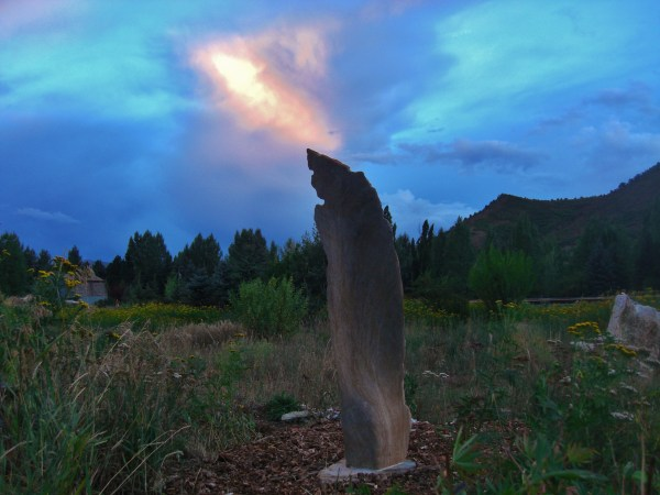 Sculpture Garden, Around Dusk