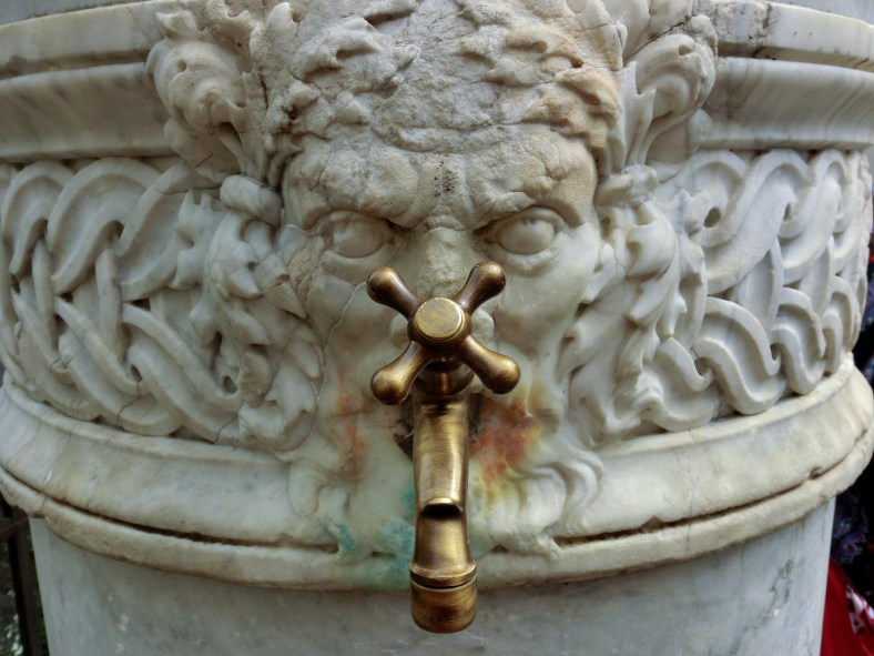 Spigot Face, Within the Walls, Lucca, Italy
