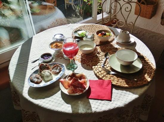 Airbnb Breakfast, Pontremoli, Tuscany, Italy