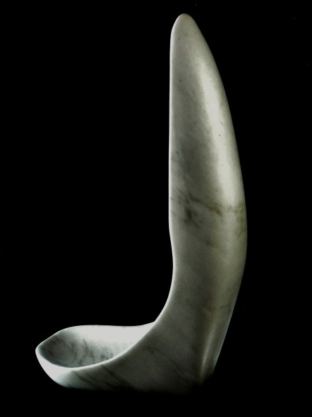 'Finger Bowl' by MARTIN COONEY, Colorado Yule Marble, 1314 Winter Collection