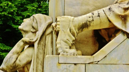Pietrasanta War Memorial, detail, Along The North West Tuscan Way