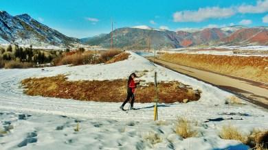 Grande Track-Bed Trail, Kris, Woody Creek, CO