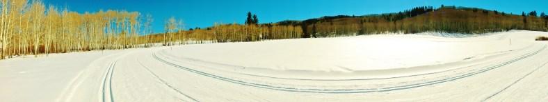Owl Creek Road Trail, Aspen/Snowmass Village Expressway. MARTIN COONEY