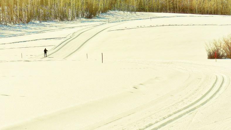 Kris, Owl Creek Road Trail, Aspen/Snowmass Village Expressway. MARTIN COONEY