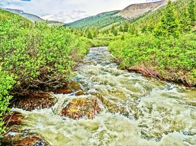 Roaring Fork River, Above Aspen