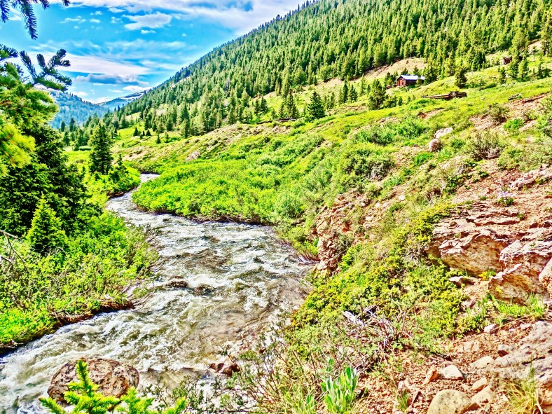 Independence Ghost Town, Roaring Fork River, Above Aspen