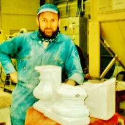 Author martincooney.com, with hand carved Bath College NVQ Level 2 test pieces