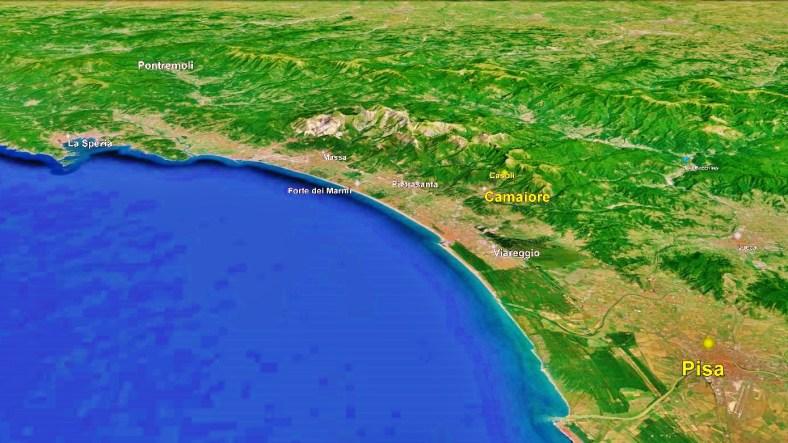 Camaiore Map Google Earth 2
