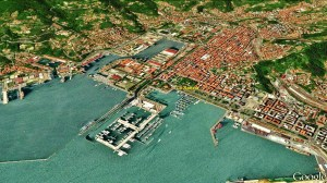 La Spezia Map 5 Google Earth