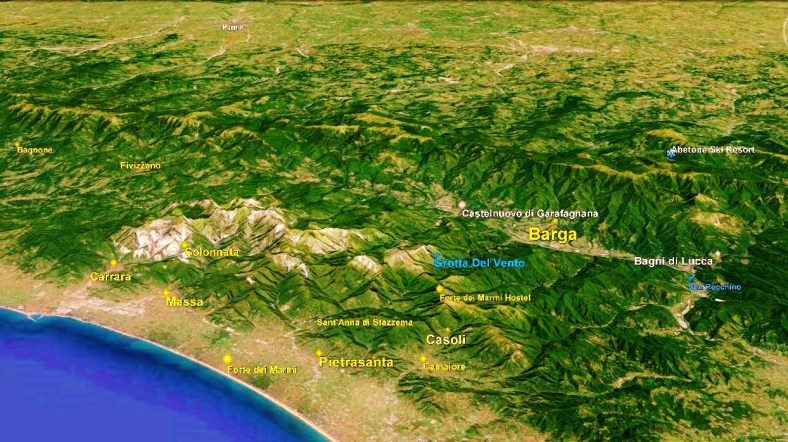 Barga Big Map 2 Google Earth