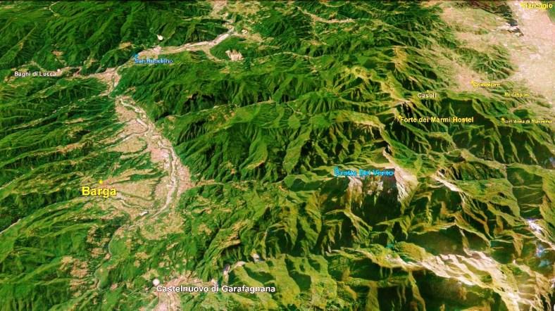 Barga Map 3 Google Earth