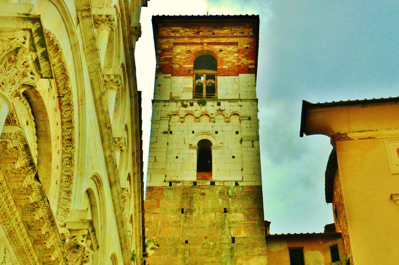 Storied Tower, Within the Walls of Lucca, Tuscany