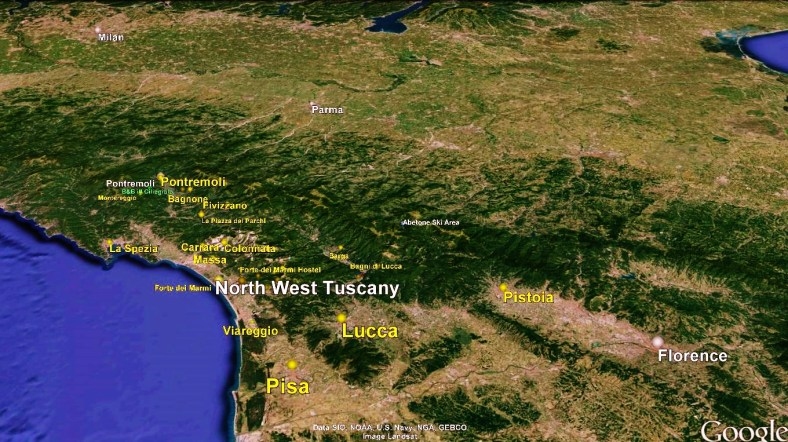 Lucca Big Map 1 Google Earth