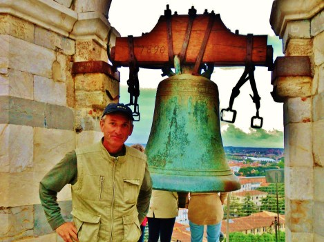 Martin Cooney, author martincooney.com, Leaning Tower of Pisa, on the North West Tuscan Way, Italy