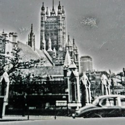 The Houses of Parliament, early sixties, London, England, UK.