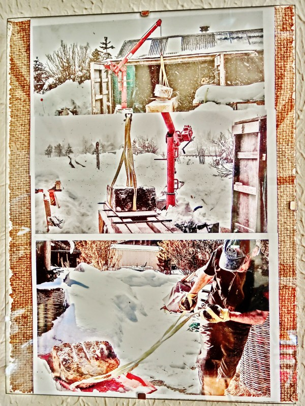 The Rigors of carving the 1314 Winter Collection, Colorado Yule Marble Sculpture by Martin Cooney.
