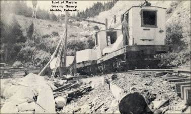 Electric Tram, Colorado Yule Marble Quarry