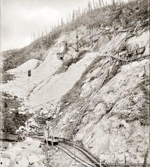 Yule Marble Quarry, 1913 (2)