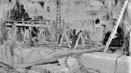 Yule Marble Quarry, quarrymen at work