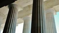 Lincoln Memorial, Yule Marble Columns2