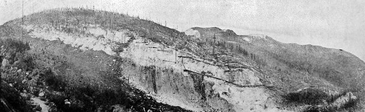Yule Marble Quarry Area Profile