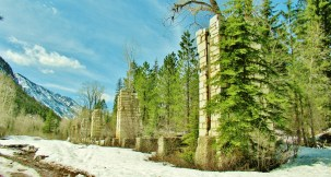 Old Finishing Mill, Marble, Crystal River Valley, Along The Aspen Marble Detour, Colorado, by Martin Cooney