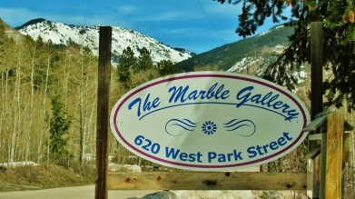 The Marble Gallery, Marble, Crystal River Valley, Along The Aspen Marble Detour, Colorado, by Martin Cooney
