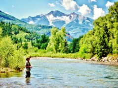 Crystal River Fly Fishing 2, Along the Aspen Marble Detour