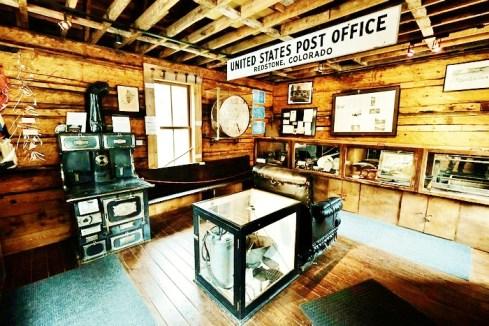 Redstone Museum interior 1, Redstone Colorado, Along the Aspen Marble Detour