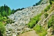 Yule Marble Quarry, waste heap