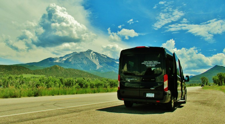 The AMD Bus, Along The Aspen Marble Detour
