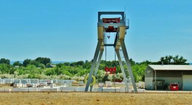 Large Gantry, Colorado Stone Quarries Fabrication Plant, Delta, Colorado
