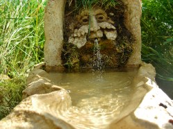 Green Man Solar Fountain @ martincooney.com