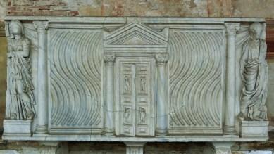 The Sarcophagi, Camposanto, Pisa, Tuscany, Italy