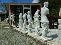 Fake Marble, On the Road to Carrara marble Quaries, Tuscany, Italy