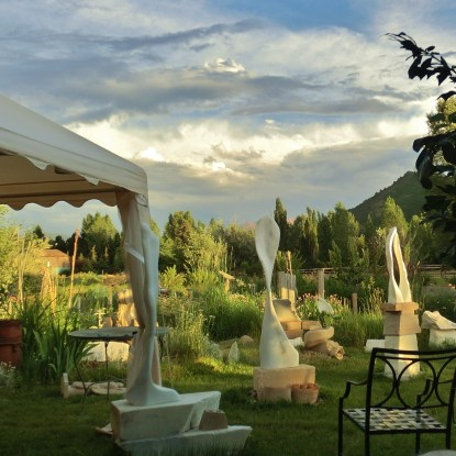 studio: studio: the lawn standing stone circle, sculpture garden