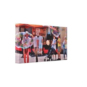 Fifizzano Festival Bubbles, 15 x 8, Wrapped Canvas Print, left