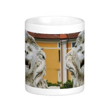 Lion of Massa, The Tortured One, Classic Mug, Center, Zazzle