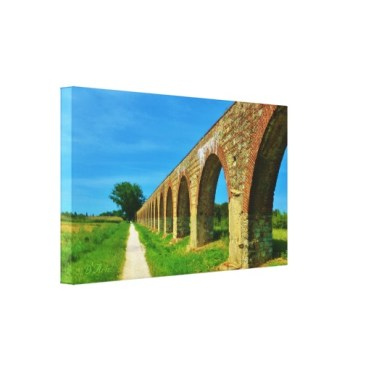 Lucca Aqueduct Footpath, 24 x 14, Wrapped Canvas Print, left