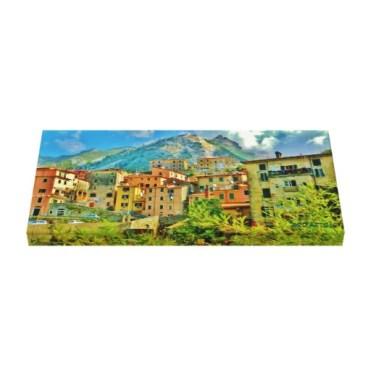 Torano, Carrara, Italy, 24 x 11.5, Wrapped Canvas Print, up