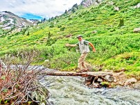 Martin Coon, Roaring Fork River, Headwaters, Lost Man Trail.