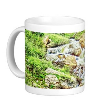 Roaring Fork River, Headwaters No. 13 Classic Mug left
