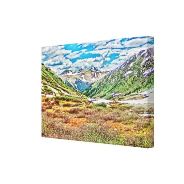 Roaring Fork River, Headwaters No. 1 Canvas Print, right