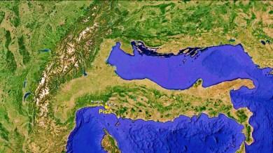 North West Tuscan Way Big Map 7 Google Earth