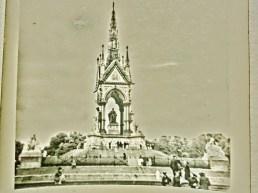 The Albert Memorial, early sixties, London, England, UK.