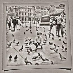 Author martincooney.com, Trafalgar Square, early sixties, London, England, UK.