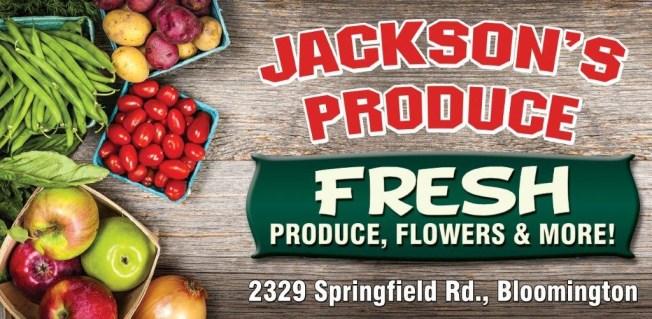 Jackson's Produce Ad