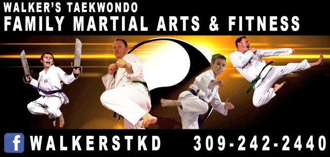 Walker's Taekwondo Ad