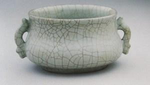Porcelaine craquelée pour Le canard salé froid de Nanjing