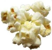 grain de maïs éclaté pour les boules de pop-corn